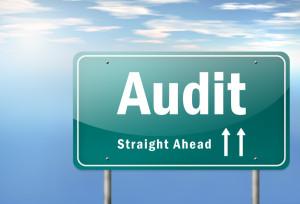 "Highway Signpost ""Audit"""